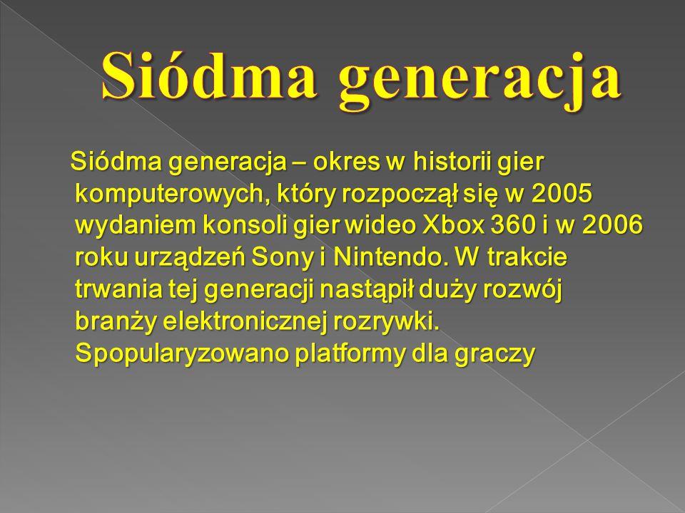 Siódma generacja