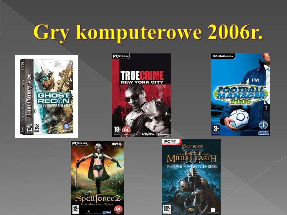 Gry komputerowe 2006r.
