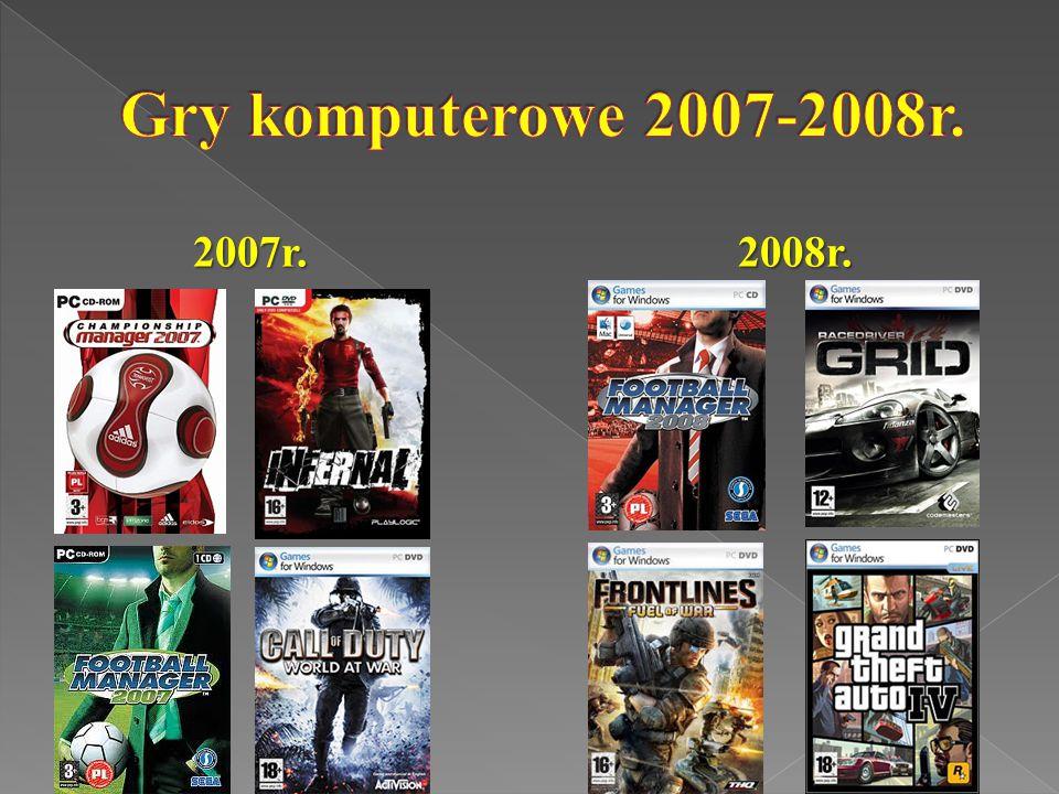 Gry komputerowe 2007-2008r. 2007r. 2008r.