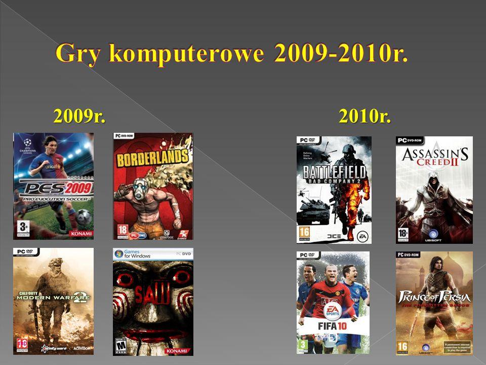 Gry komputerowe 2009-2010r. 2009r. 2010r.