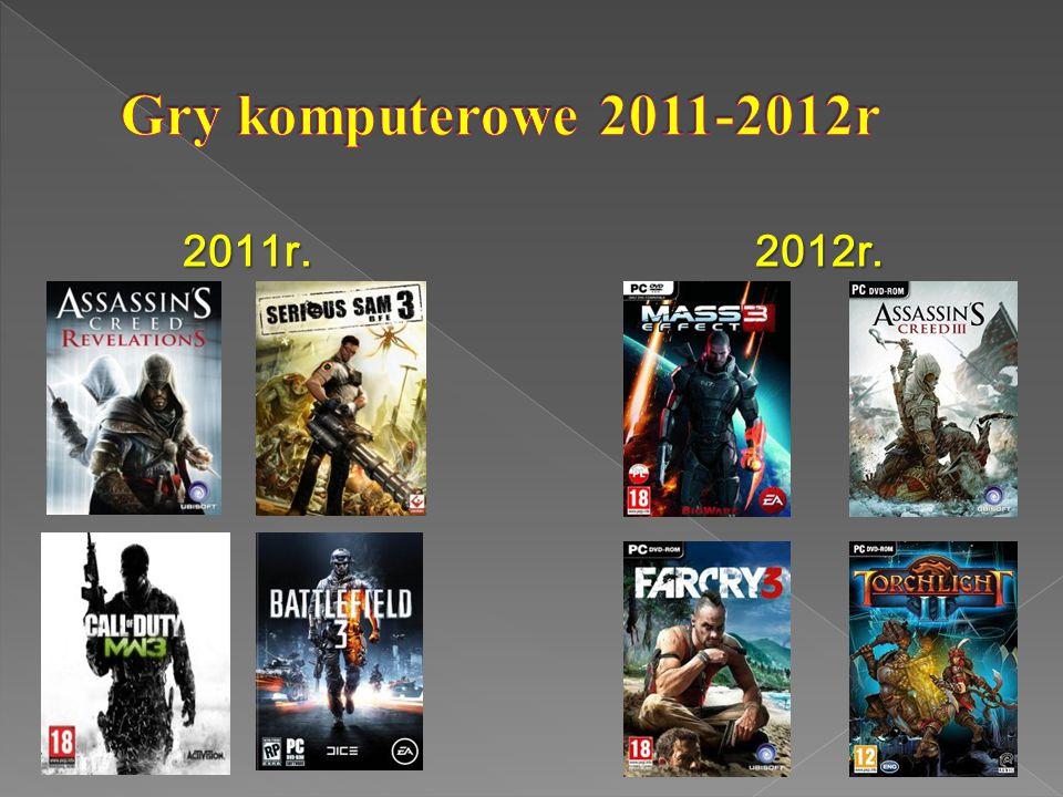 Gry komputerowe 2011-2012r 2011r. 2012r.