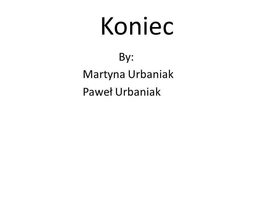Koniec By: Martyna Urbaniak Paweł Urbaniak