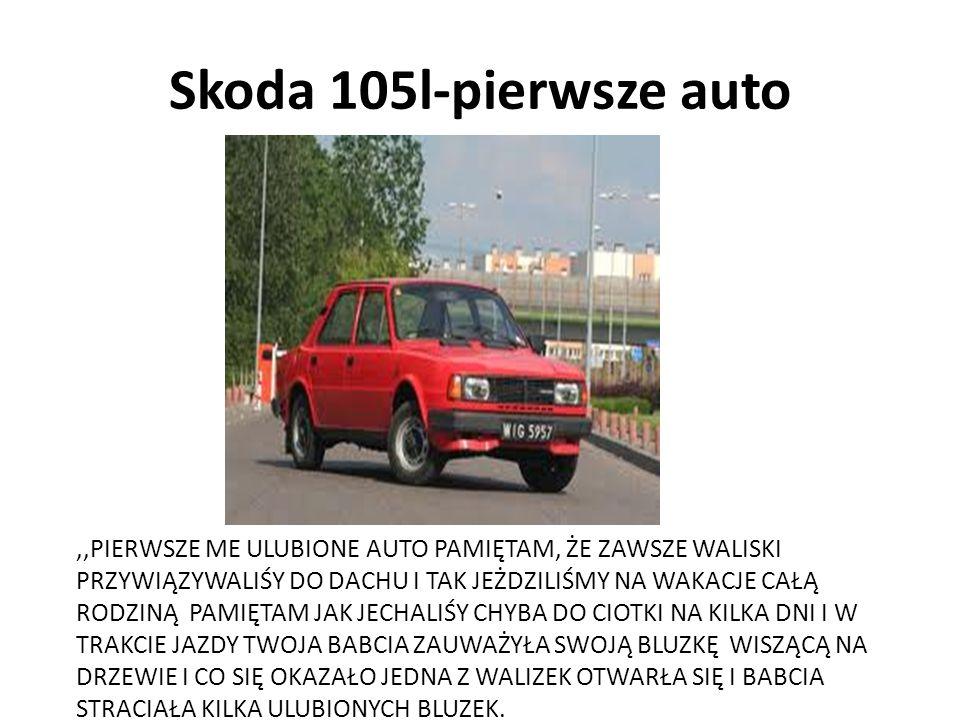 Skoda 105l-pierwsze auto