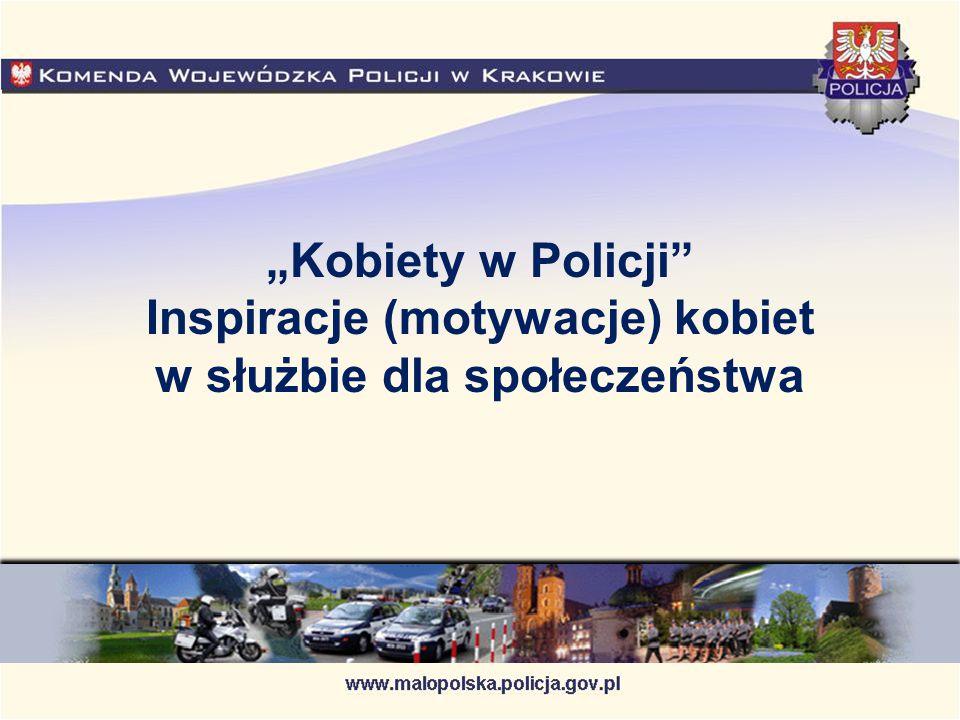 """""""Kobiety w Policji Inspiracje (motywacje) kobiet w służbie dla społeczeństwa"""