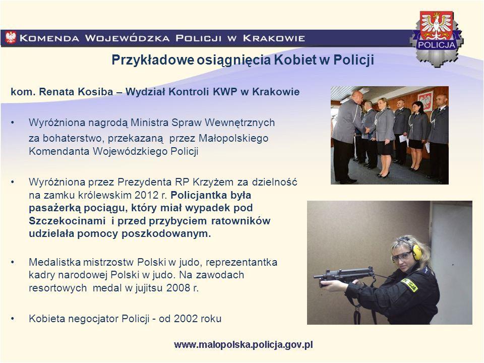 Przykładowe osiągnięcia Kobiet w Policji