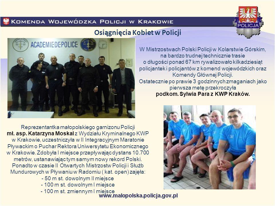Osiągnięcia Kobiet w Policji