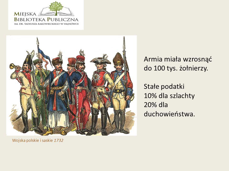 Armia miała wzrosnąć do 100 tys. żołnierzy.