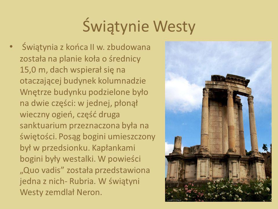 Świątynie Westy