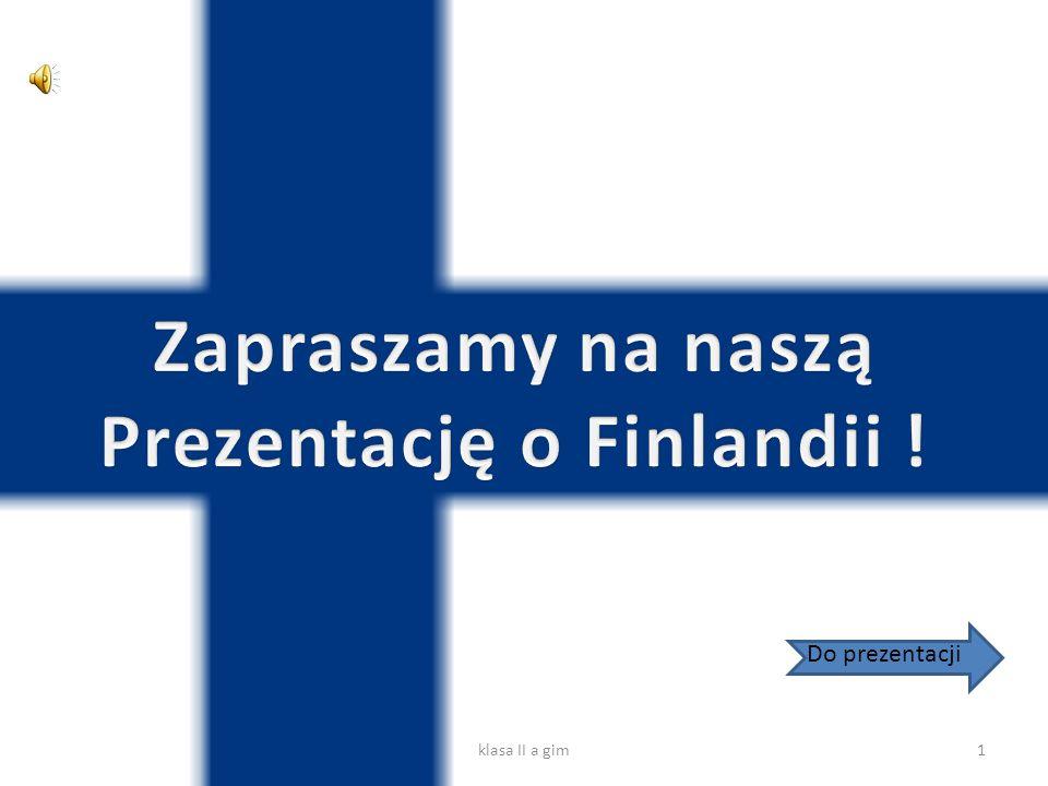 Prezentację o Finlandii !