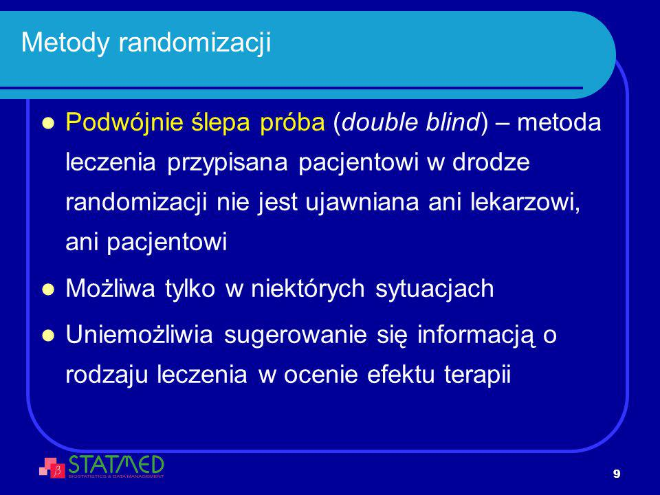 Metody randomizacji