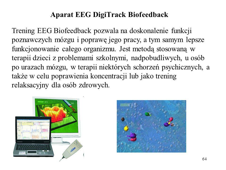 Aparat EEG DigiTrack Biofeedback