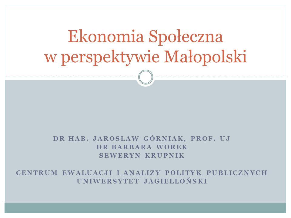 Ekonomia Społeczna w perspektywie Małopolski