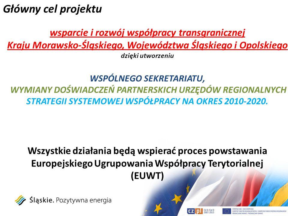 Główny cel projektu wsparcie i rozwój współpracy transgranicznej