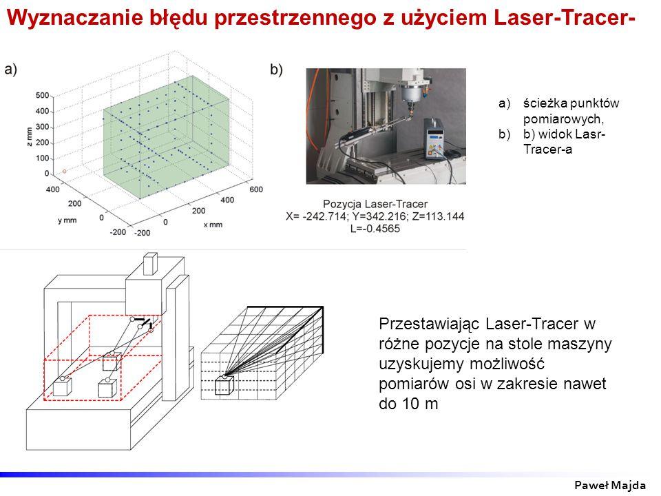 Wyznaczanie błędu przestrzennego z użyciem Laser-Tracer-a