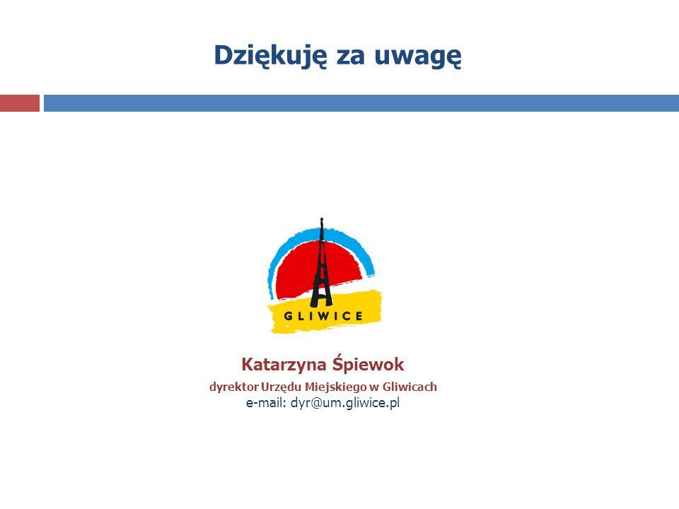 dyrektor Urzędu Miejskiego w Gliwicach