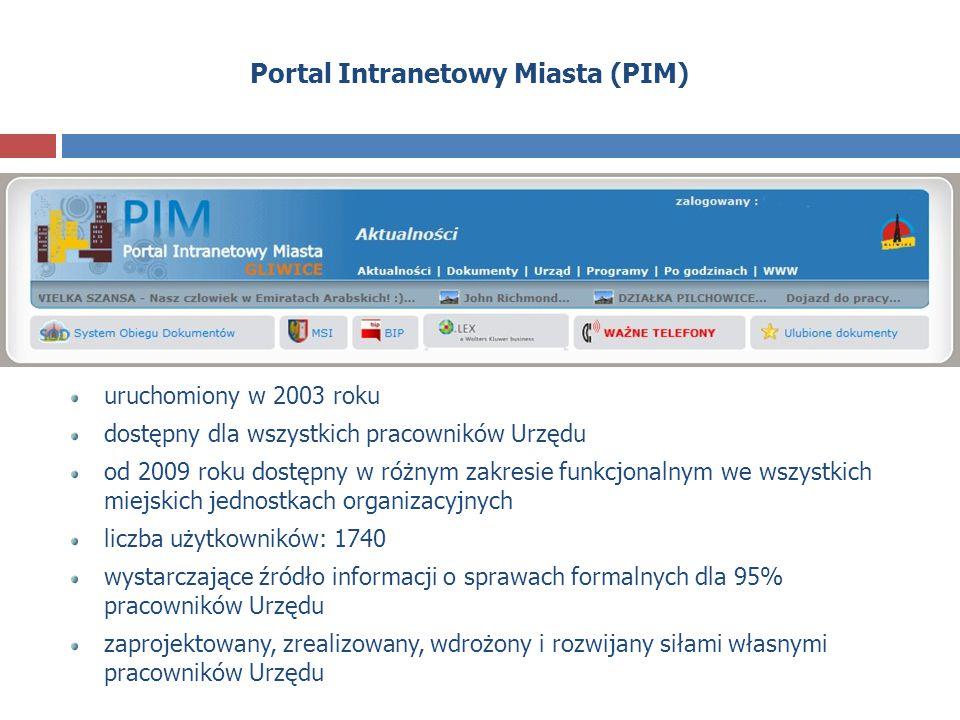 Portal Intranetowy Miasta (PIM)