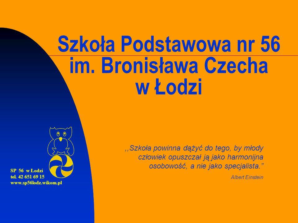 Szkoła Podstawowa nr 56 im. Bronisława Czecha w Łodzi