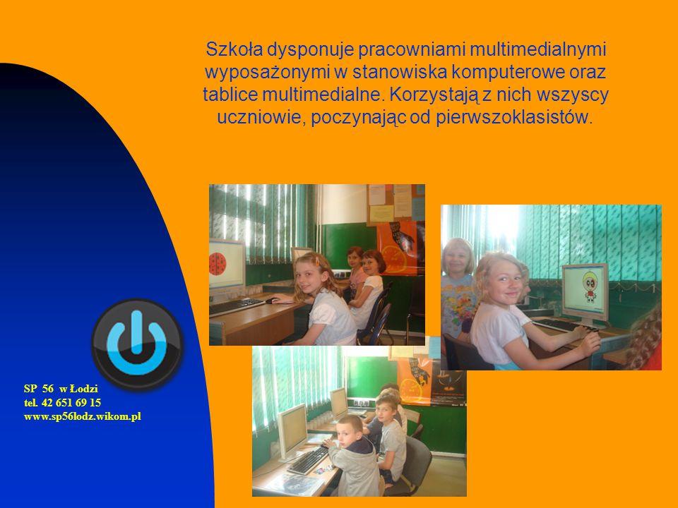 Szkoła dysponuje pracowniami multimedialnymi wyposażonymi w stanowiska komputerowe oraz tablice multimedialne. Korzystają z nich wszyscy uczniowie, poczynając od pierwszoklasistów.