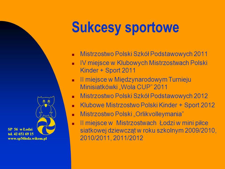 Sukcesy sportowe Mistrzostwo Polski Szkół Podstawowych 2011