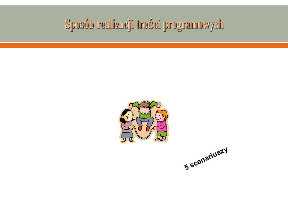 Sposób realizacji treści programowych