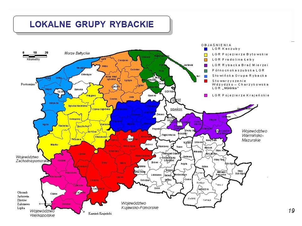 LOKALNE GRUPY RYBACKIE