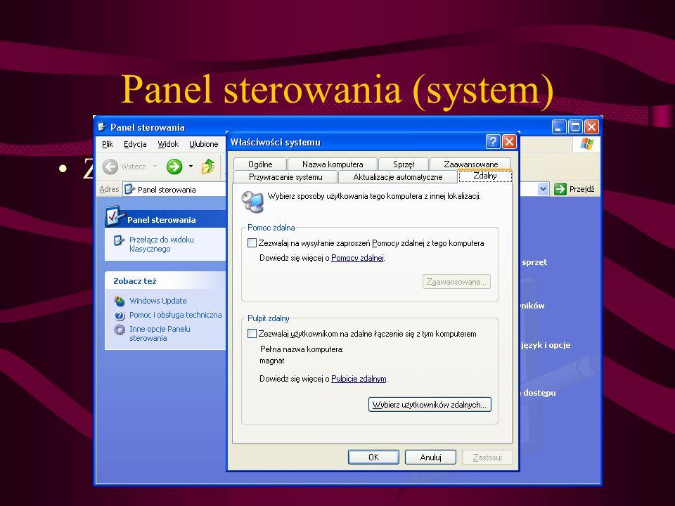 Panel sterowania (system)