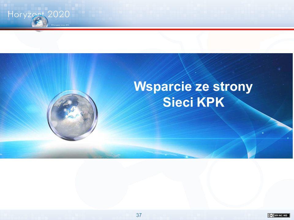 Wsparcie ze strony Sieci KPK