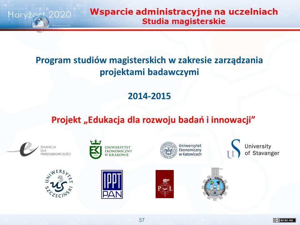 """Projekt """"Edukacja dla rozwoju badań i innowacji"""