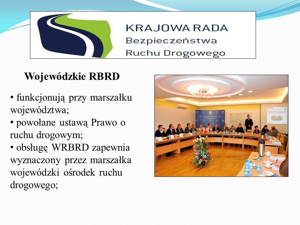 Wojewódzkie RBRD funkcjonują przy marszałku województwa;