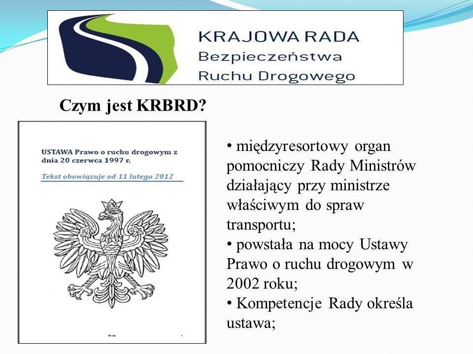 Czym jest KRBRD międzyresortowy organ pomocniczy Rady Ministrów działający przy ministrze właściwym do spraw transportu;