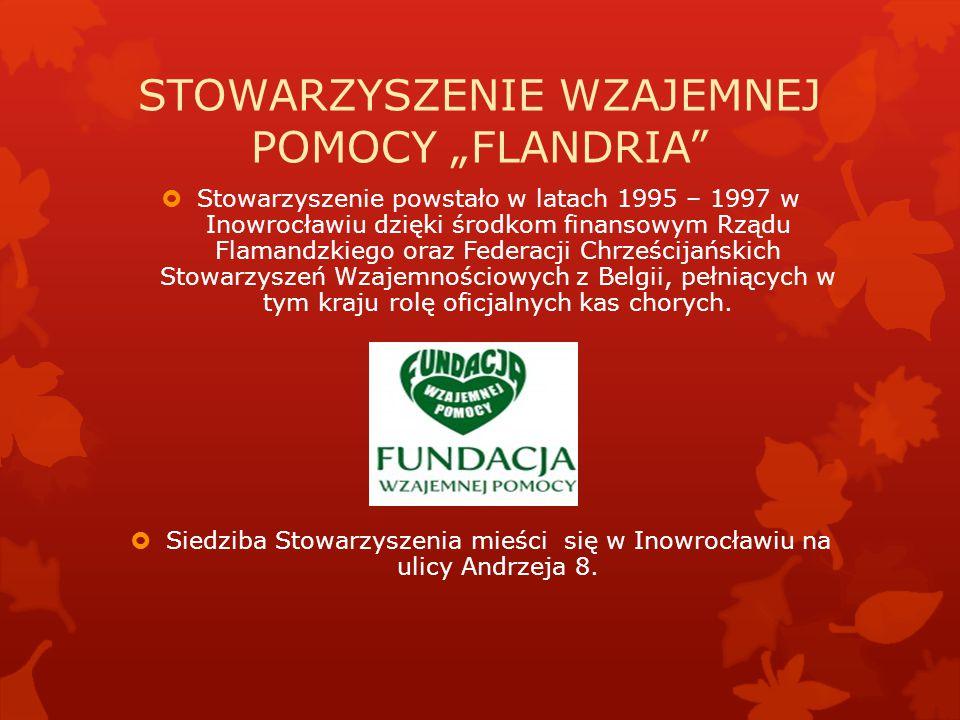 """STOWARZYSZENIE WZAJEMNEJ POMOCY """"FLANDRIA"""