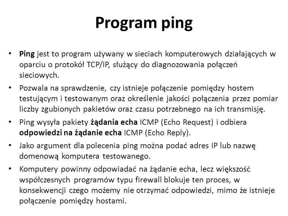 Program ping