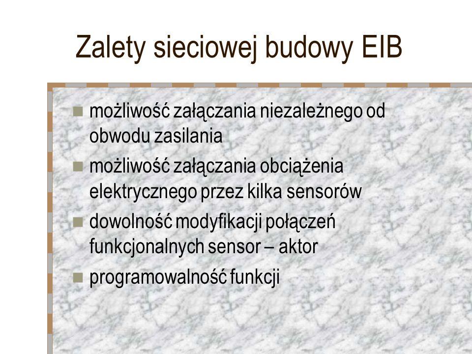 Zalety sieciowej budowy EIB
