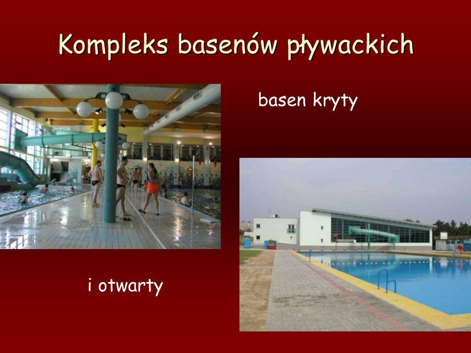 Kompleks basenów pływackich