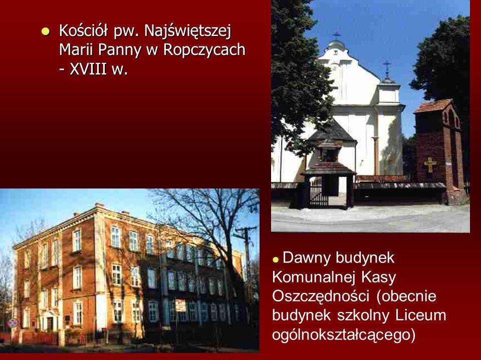 Kościół pw. Najświętszej Marii Panny w Ropczycach - XVIII w.