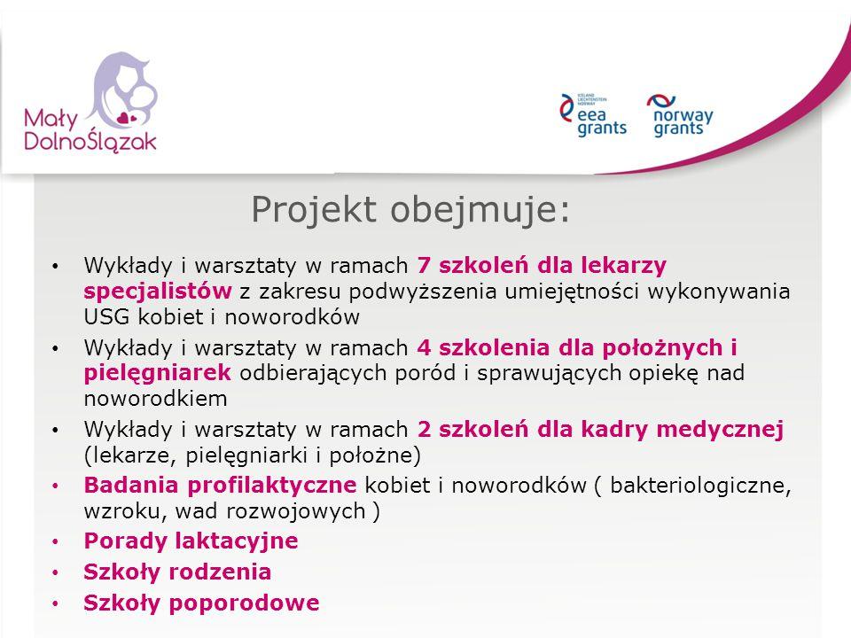 Projekt obejmuje: