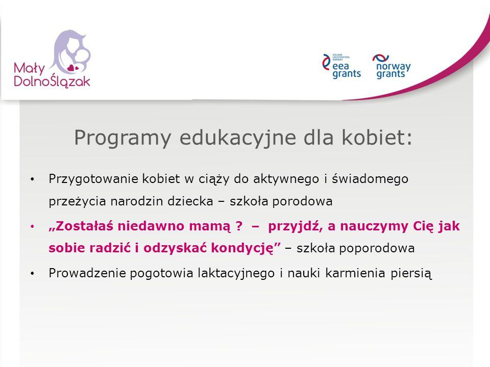 Programy edukacyjne dla kobiet: