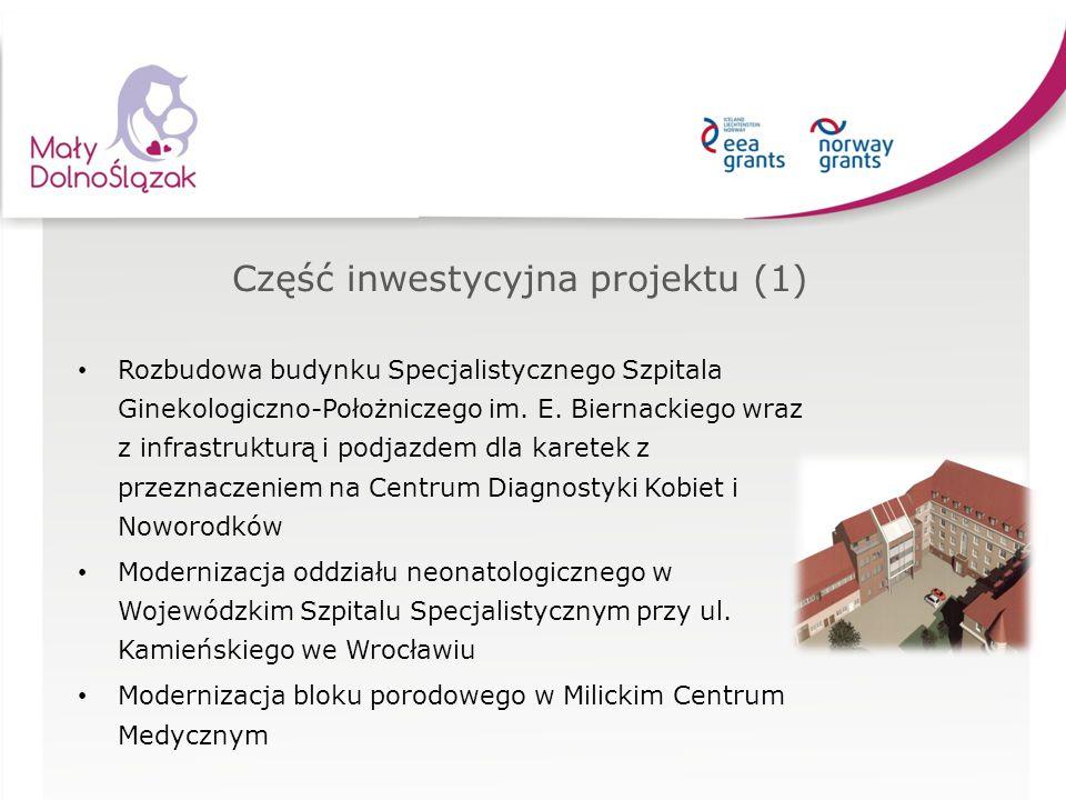 Część inwestycyjna projektu (1)