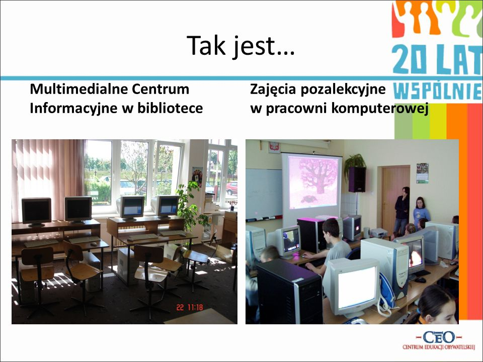 Tak jest… Multimedialne Centrum Informacyjne w bibliotece