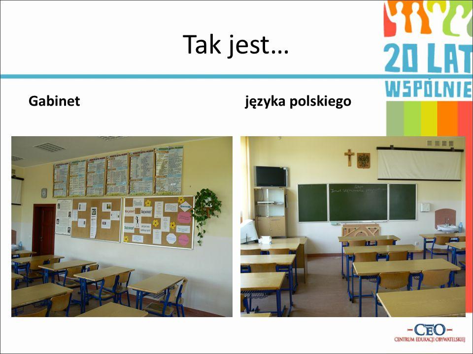 Tak jest… Gabinet języka polskiego