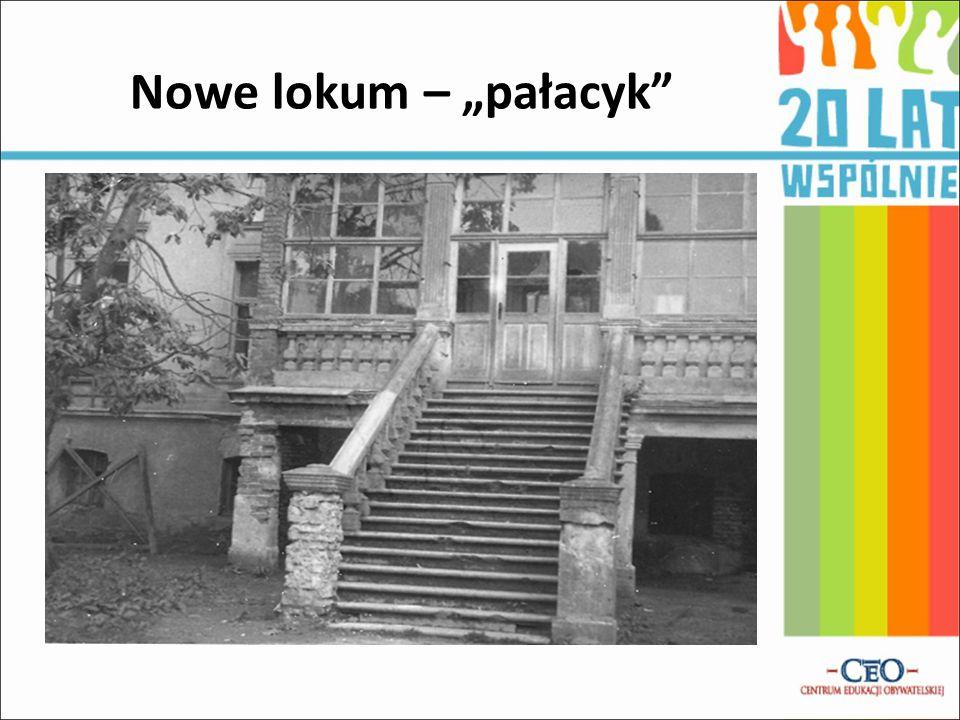 """Nowe lokum – """"pałacyk"""