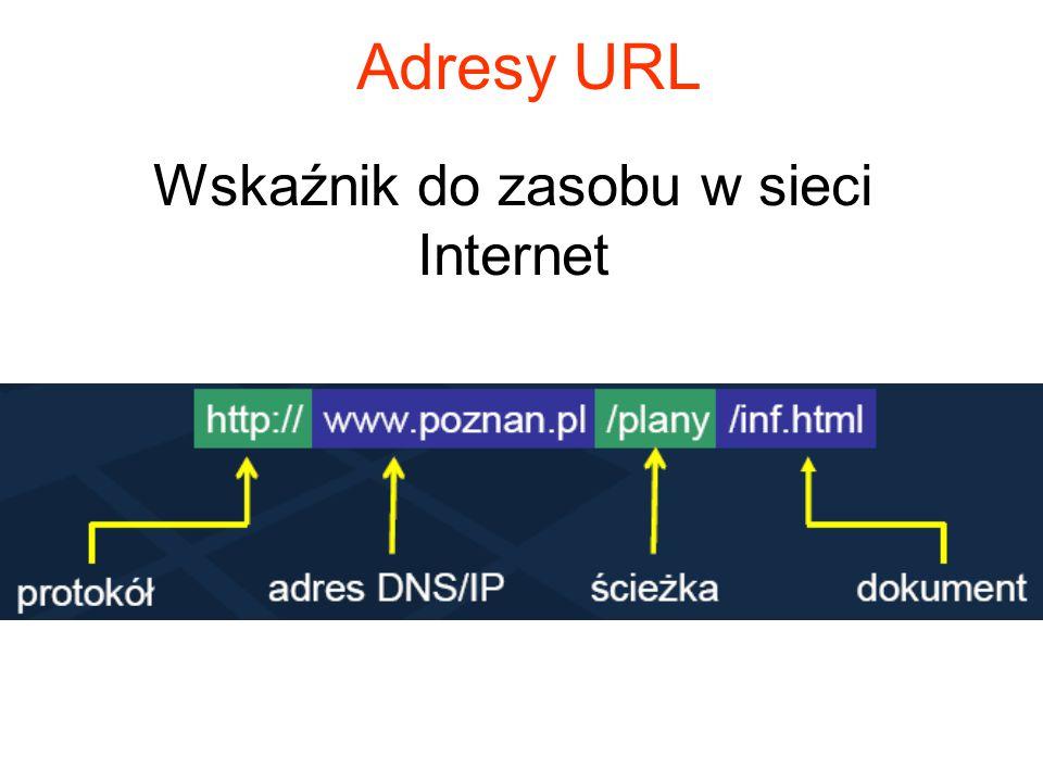 Wskaźnik do zasobu w sieci Internet