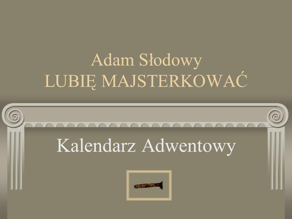 Adam Słodowy LUBIĘ MAJSTERKOWAĆ