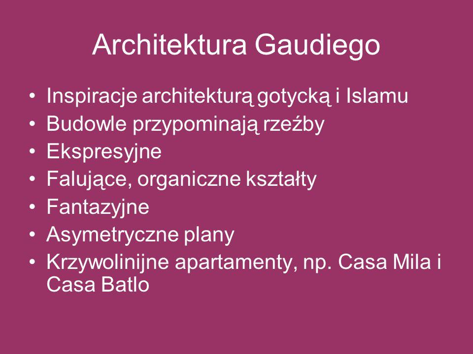 Architektura Gaudiego