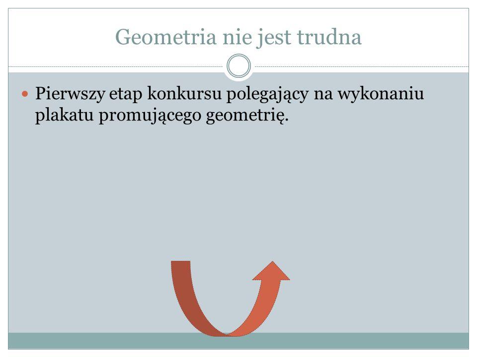 Geometria nie jest trudna
