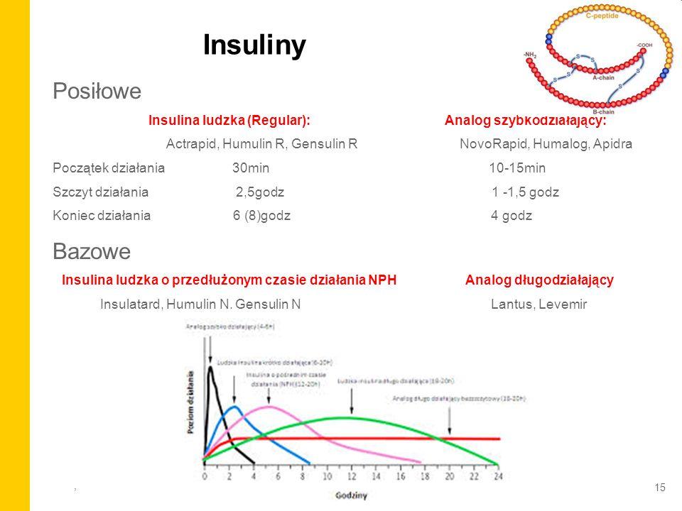 Insuliny Posiłowe Bazowe