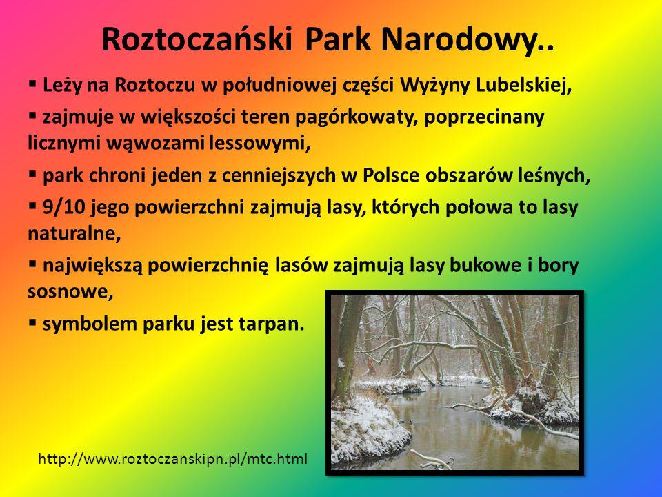 Roztoczański Park Narodowy..