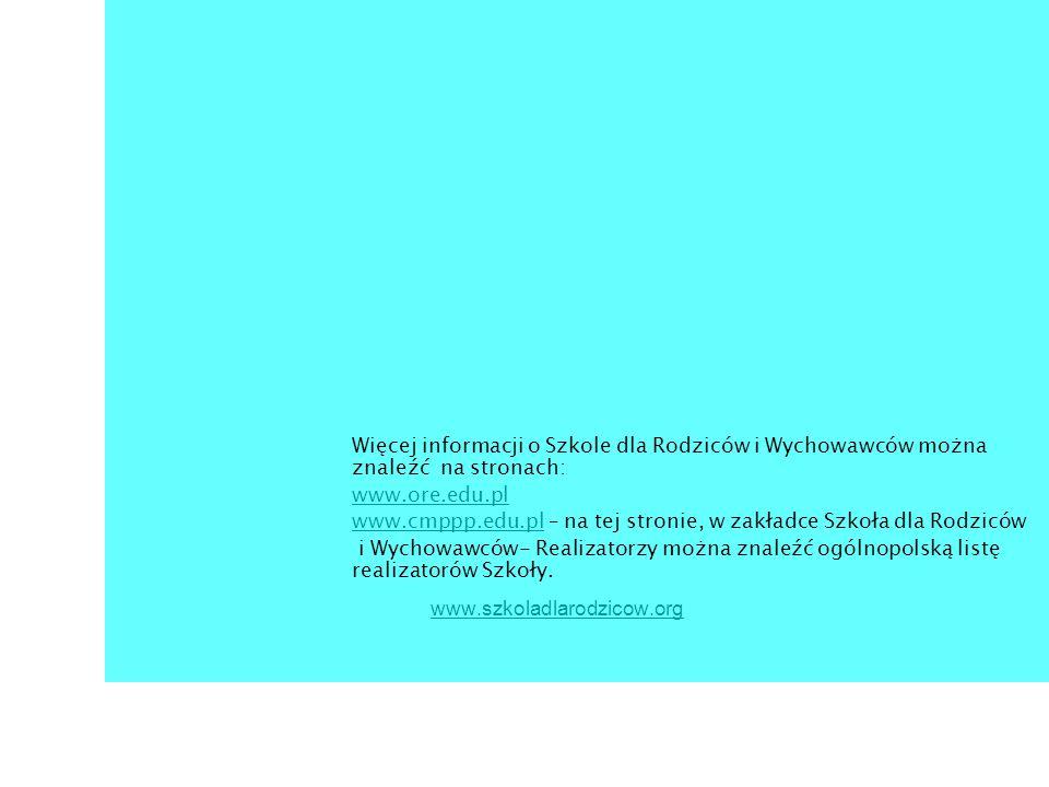 www.cmppp.edu.pl – na tej stronie, w zakładce Szkoła dla Rodziców
