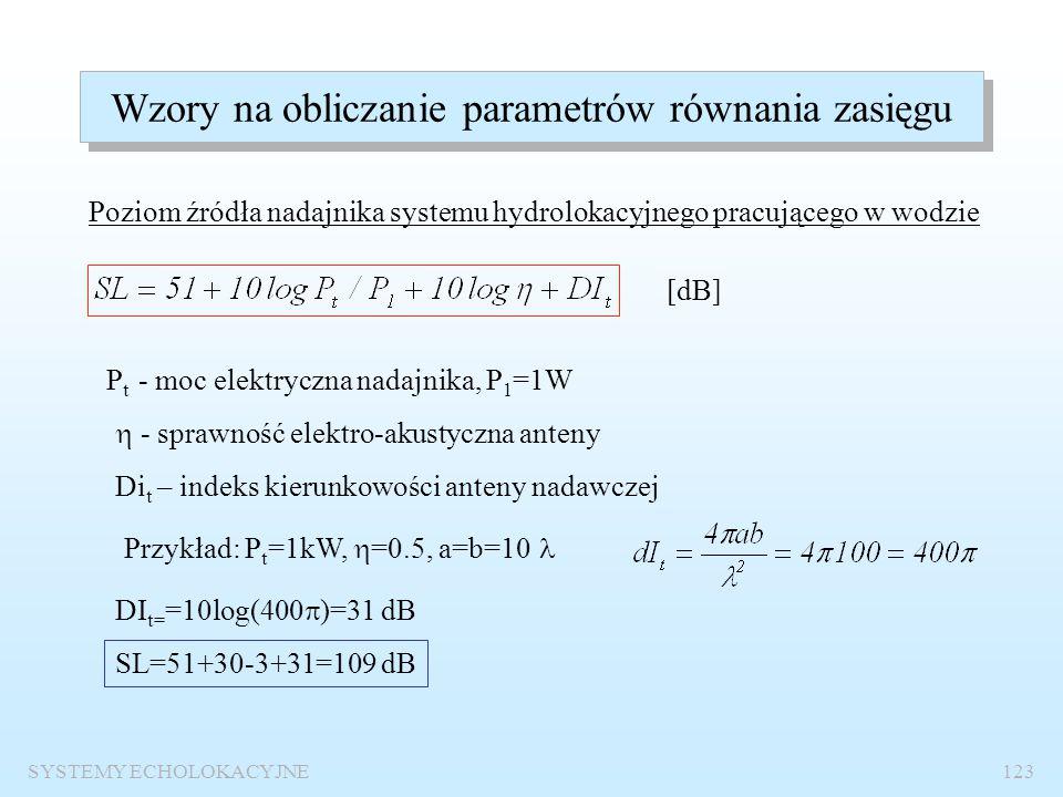 Wzory na obliczanie parametrów równania zasięgu