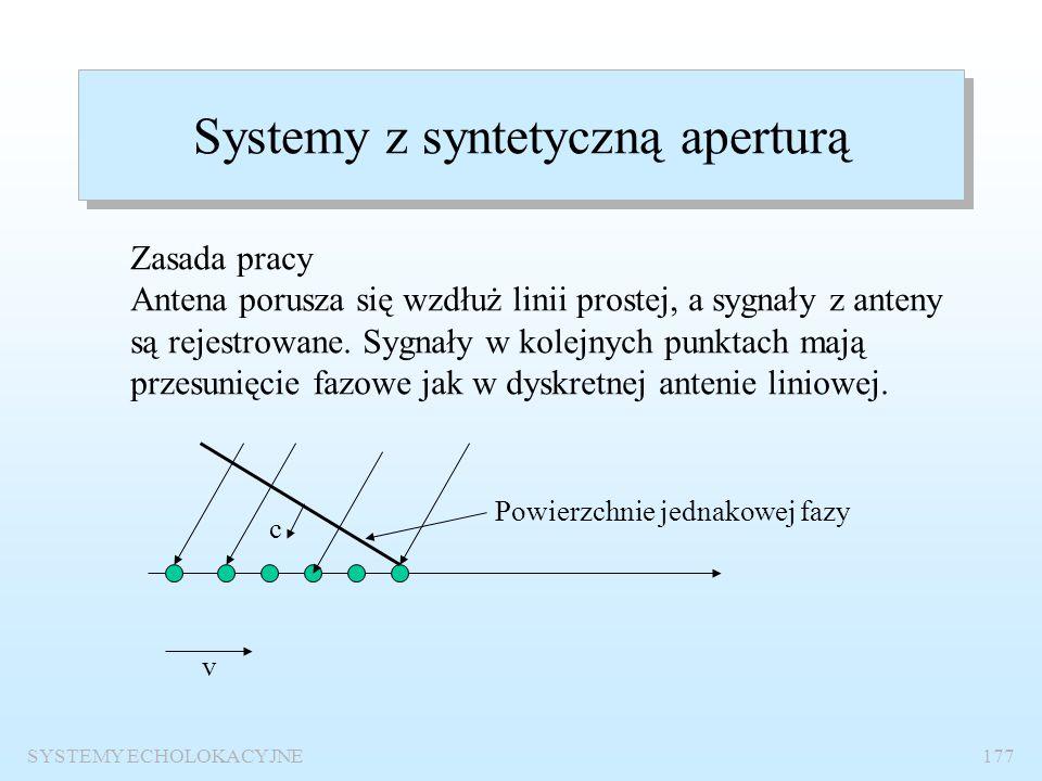 Systemy z syntetyczną aperturą
